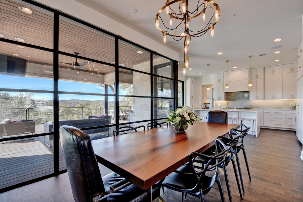dining table with